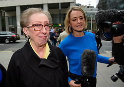 © Licensed to London News Pictures. 20/09/2016. London, UK. Labour MP MARGARET BECKETT  arrives at Labour Party headquarters in central London for an NEC meeting where Labour Party shadow cabinet selection is due to be discussed. Labour MPs voted overwhelmingly to bring back Shadow Cabinet elections, a move that will need to be passed before the Labour National Executive Committee before it can be agreed on at conference later this month. Photo credit: Ben Cawthra/LNP