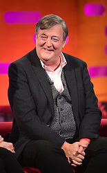 File photo dated 22/11/2018 of Stephen Fry who along with Little Mix have been honoured for being allies in defending and advancing LGBT rights.