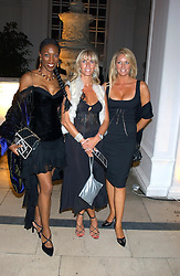 Left to right, DJ TONIC, DJ LISA LOUD and SARAH BOSNICH at a evening to celebrate the unveiling of the British Luxury Club at The Orangery, Kensington Palace, London W8 on 16th September 2004.<br /><br />NON EXCLUSIVE - WORLD RIGHTS