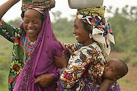 Fulani women in Northern  Benin
