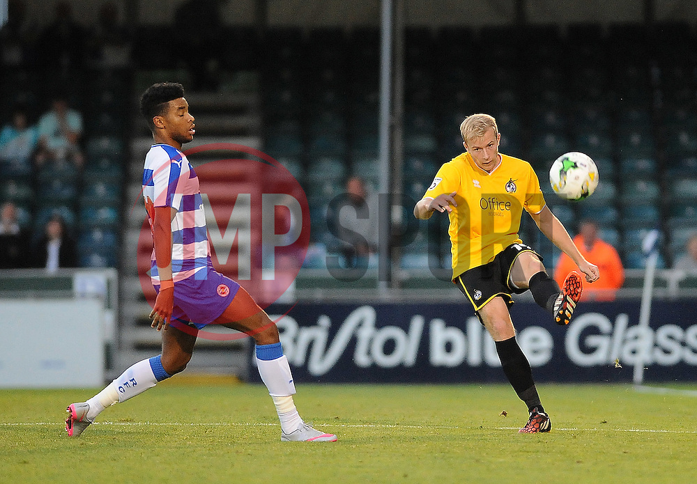 Danny Greenslade of Bristol Rovers - Mandatory by-line: Neil Brookman/JMP - 21/07/2015 - SPORT - FOOTBALL - Bristol,England - Memorial Stadium - Bristol Rovers v Reading - Pre-Season Friendly