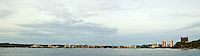Panoramic View of Guam's Tumon Bay and Tumon Bay Marine Preserve