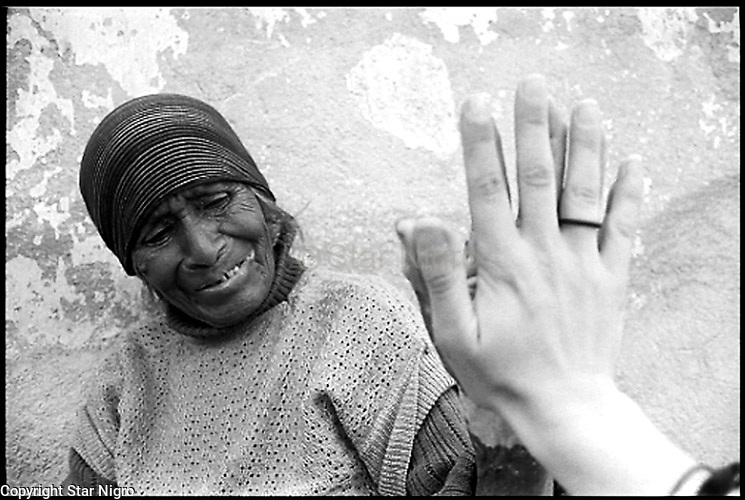 Maria &amp; Me by Star Nigro<br /> <br /> <br /> This older woman appeared to me in a courtyard in front of the local church. From then it was like meeting one of my grandmothers.  Mitla, Mexico.<br /> <br /> <br /> &copy; 2019 All artwork is the property of STAR NIGRO.  Reproduction is strictly prohibited.