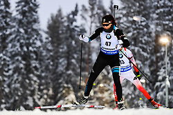 March 8, 2019 - –Stersund, Sweden - 190308 Tuuli Tomingas of Estonia competes in the Women's 7.5 KM sprint during the IBU World Championships Biathlon on March 8, 2019 in Östersund..Photo: Petter Arvidson / BILDBYRÃ…N / kod PA / 92247 (Credit Image: © Petter Arvidson/Bildbyran via ZUMA Press)