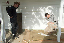 Building a wheelchair ramp