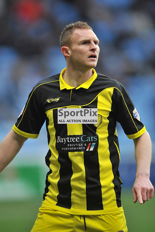 Stuart Beavon Burton Albion, Coventry City v Burton Albion, Ricoh Arena,  Sky Bet League 1, Saturday 16th JJanuary 2016, (Mike Capps/Sportpix)