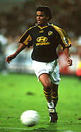 31.08.1997, Halmstad, Sweden..Allsvenskan.Piracaia - AIK.Full name: Marcelo Gonalves de Oliveira.©Juha Tamminen