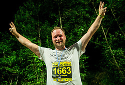 Gregor Hajsek at 10th Nocna 10ka 2016, traditional run around Bled's lake, on July 09, 2016 in Bled,  Slovenia. Photo by Vid Ponikvar / Sportida