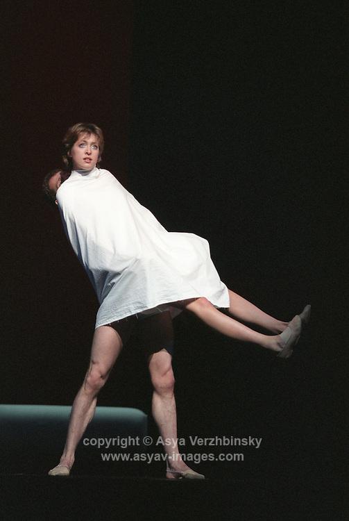 "Anastasia Meskova and Yan Godovsky in Bolshoi Ballet's ""Romeo and Juliet"". Music: Serge Prokofiev"