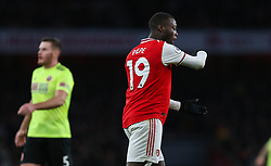 Nicolas Pepe of Arsenal shows his frustration - Mandatory by-line: Arron Gent/JMP - 18/01/2020 - FOOTBALL - Emirates Stadium - London, England - Arsenal v Sheffield United - Premier League