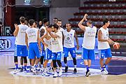 """Team Banco di Sardegna Dinamo Sassari<br /> Trofeo Tirrenia Città di Sassari """"Mimì Anselmi""""<br /> Finale<br /> Banco di Sardegna Dinamo Sassari - Cagliari Dinamo Academy<br /> Sassari, 10/09/2017<br /> Foto L.Canu / Ciamillo-Castoria"""