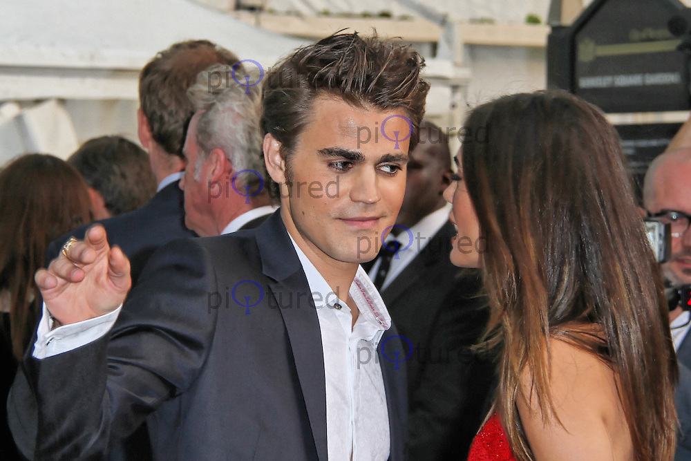 LONDON - MAY 29: Paul Wesley attends the Glamour Women Of The Year Awards, Berkeley Square, London, UK. May 29, 2012. (Photo by Richard Goldschmidt)