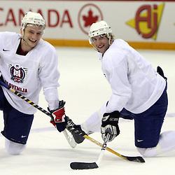 20080501: Ice Hockey - Practice of Slovenian team in Metro centre, Halifax, Canada