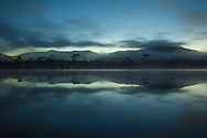 Morning mist on the Huon River, Tasmania. Photo by Lorenz Berna