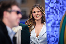 Liz Hurley attending the Rocketman UK Premiere, at the Odeon Luxe, Leicester Square, London.Picture date: Monday May 20, 2019. Photo credit should read: Matt Crossick/Empics