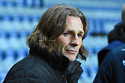 Wycombe Wanderers manager Gareth Ainsworth during the EFL Sky Bet League 2 match between Coventry City and Wycombe Wanderers at the Ricoh Arena, Coventry, England on 22 December 2017. Photo by Alan Franklin.