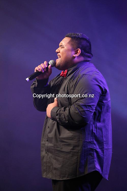 301113 2013  Whenua Patuwai performs at the Trillian Trust Maori Sports Awards at Vodafone Events Centre, Manukau. Photo: Fiona Goodall/photosport.co.nz