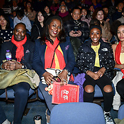 Kenrick Williamson,Medina Williamson, Laylah Williamson and Florence Joy at the 2020 China-Britain Chinese New Year Extravaganza with 200 performers from over 20 art groups from both China and the UK showcase at Logan Hall on 18th January 2020, London, UK.