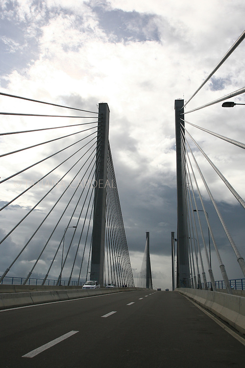 The bridge Construtor João Alves, lauched in September, 2006, connecting the capital Aracaju to Barra dos Coqueiros has a length of 1,800 meters and cost 99 million Reais. It's also called by the population as Ponte Zé Peixe.