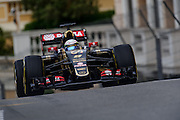 May 20-24, 2015: Monaco Grand Prix - Romain Grosjean (FRA), Lotus