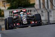 May 20-24, 2015: Monaco Grand Prix - Romain Grosjean (FRA), Lotus