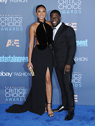 Eniko Parris, Kevin Hart  bei der Verleihung der 22. Critics' Choice Awards in Los Angeles / 111216