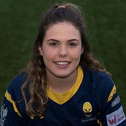 Chloe Barton of Worcester Valkyries - Mandatory by-line: Robbie Stephenson/JMP - 17/10/2017 - RUGBY - Sixways Stadium - Worcester, England - Worcester Valkyries Headshots