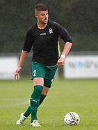 FODBOLD: Niclas Madsen (Fredensborg) under kampen i Danmarksserien mellem Taastrup FC og Fredensborg BI den 9. september 2017 i Taastrup Idrætspark. Foto: Claus Birch