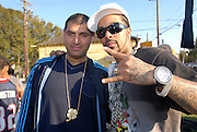 Immigrant Film shoots Warner Bros. Records and Sony Records recording artist Lil Flip and Lyfe Jennings for Geto Life, in Houston Texas, November 17, 2006..Hasain Rasheed Photography 2006<br />
