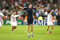 Joie Jean Frederic Dubois - 05.06.2015 - Toulon / Stade Francais - 1/2Finale Top 14 -Bordeaux<br />Photo : Manuel Blondeau / Icon Sport