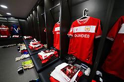 Bristol City changing room  - Mandatory by-line: Dougie Allward/JMP - 27/10/2018 - FOOTBALL - Ashton Gate Stadium - Bristol, England - Bristol City v Stoke City - Sky Bet Championship
