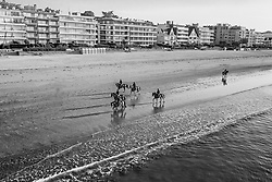 Beach ride in the morning<br /> Jumping International de La Baule 2019<br /> © Hippo Foto - Dirk Caremans<br /> 19/05/2019