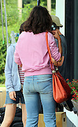 Aug. 18, 2015 - New York, New York, U.S. - <br /> <br /> Actress KATIE HOLMES looking a bit messy on the set of her new movie 'All We Had' in Up State New York. <br /> ©Exclusivepix Media
