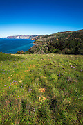 Prisoner's Harbor, Santa Cruz Island, Channel Islands National Park, California USA