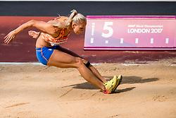 06-08-2017 IAAF World Championships Athletics day 3, London<br /> Nadine Broersen NED (zevenkamp)