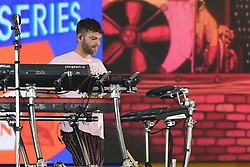 August 10, 2018 - New York, NY, USA - August 10, 2018 New York City..Alex Pall of The Chainsmokers performing on Good Morning America's Summer Concert Series in Central Park on August 10, 2018 in New York City. (Credit Image: © Kristin Callahan/Ace Pictures via ZUMA Press)