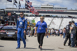 July 21, 2018 - Loudon, New Hampshire, United States of America - Alex Bowman (88) gets ready to practice for the Foxwoods Resort Casino 301 at New Hampshire Motor Speedway in Loudon, New Hampshire. (Credit Image: © Stephen A. Arce/ASP via ZUMA Wire)