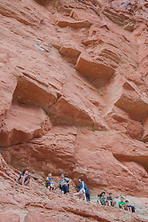 United States, Arizona, Grand Canyon National Park, whitewater rafting trip.  MR, PR