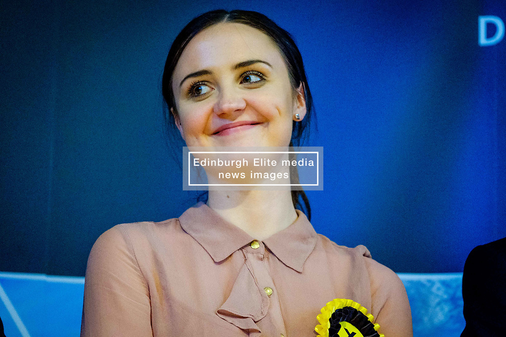 General Election 2017 Dumfries Count :: Mairi McCallan - SNP candidate at the count<br /> <br /> (c) Andrew Wilson   Edinburgh Elite media