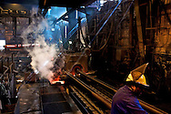Pipes produced in a casting company, Switzerland.