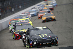 July 22, 2018 - Loudon, New Hampshire, United States of America - Kurt Busch (41) battles for position during the Foxwoods Resort Casino 301 at New Hampshire Motor Speedway in Loudon, New Hampshire. (Credit Image: © Justin R. Noe Asp Inc/ASP via ZUMA Wire)