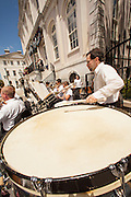 The Charleston Symphony Orchestra Brass Ensemble plays at the start of the Spoleto Festival USA on May 25, 2012 in Charleston, South Carolina. The 17-day performing arts festival will include more than 140 performances on stages throughout Charleston.
