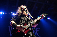 Metal band Arcanium performs live at The Pageant in St. Louis on May 21, 2010.
