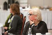 Conférence de la SCDA sur la Gouvernance et le Conseil d'administration : prémisses du système de Gouvernance stratégique, principes de gouvernance, rôles et pratiques d'un C.A. performant.<br /> Avec Monique Gagné (CAÉ), Monique Dansereau (CAÉ) et Marco Baron (BAA) chez OSBL Plus.  à  Hôtel Delta / Montreal / Canada / 2014-02-14, Photo © Marc Gibert / adecom.ca