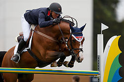 Clee Joe, (GBR), Utamaro D Ecaussines  <br /> Furusiyya FEI Nations Cup presented by Longines <br /> La Baule 2016<br /> © Hippo Foto - Dirk Caremans<br /> 13/05/16