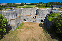 France, Manche (50), Regnéville-sur-Mer, Fours à Chaux du Rey // France, Normandy, Manche department, Regnéville-sur-Mer, Rey lime kilns
