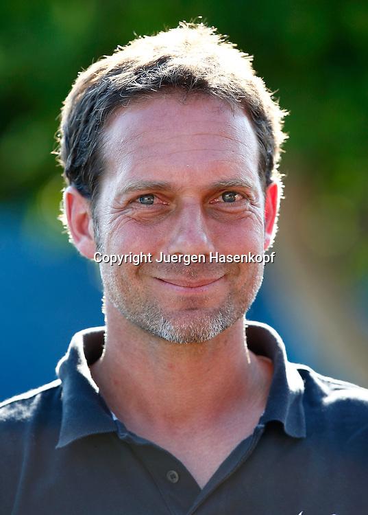 Australian Open 2013, Melbourne Park,ITF Grand Slam Tennis Tournament ,.Davis Cup Team Chef Carsten Arriens (GER),.Portrait,Hochformat,privat,