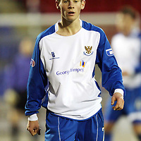 St Johnstone Season 2007-08<br /> Kevin Moon<br /> Picture by Graeme Hart.<br /> Copyright Perthshire Picture Agency<br /> Tel: 01738 623350  Mobile: 07990 594431