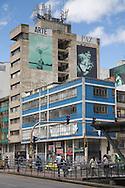 Bogota, Cundinamarca, Colombia - 23.09.2016        <br /> <br /> Street art and sprayed slogans in the Colombian capital Bogota. In numerous graffiti current political conflicts are taken up. On 2nd October a peace referendum takes place about the end of the 52 years ongoing civil war between the marxist FARC-EP guerrilla and the government.<br /> <br /> Streetart und gespruehte Parolen in der kolumbianischen Hauptstadt Bogota. In zahlreichen Graffitis werden aktuelle politische Konflikte des B&uuml;rgerkriegslandes aufgegriffen. Am 02. Oktober findet eine Volksabstimmung &uuml;ber das Ende des seit 52 Jahren dauernden B&uuml;rgerkrieges zwischen der marxistischen FARC-EP Guerilla und der Regierung statt.<br /> <br /> Photo: Bjoern Kietzmann