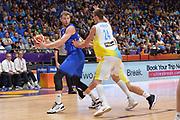 Niccolo Melli<br /> Nazionale Italiana Maschile Senior<br /> Eurobasket 2017 - Group Phase<br /> Ukraina - Italia<br /> FIP 2017<br /> Tel Aviv, 02/09/2017<br /> Foto Ciamillo - Castoria/ M.Longo